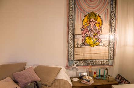 Camera da letto idee immagini e decorazione homify - Camera industrial chic ...