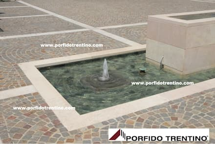 Swimming pond by PORFIDO TRENTINO SRL