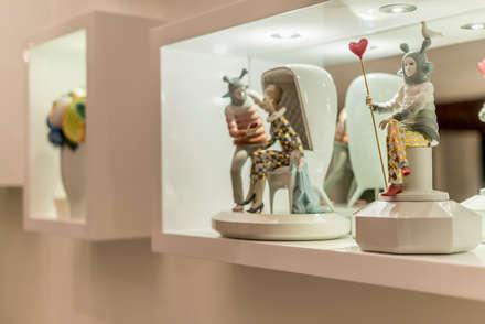 Casa T : Paredes de estilo  por Gracia Nano Studio