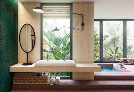Minimalistische Badezimmer Von Tobi Architects