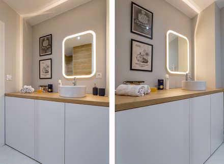 Le Saint Georges: Salle de bain de style de style Scandinave par Thomas Marquez Photographie