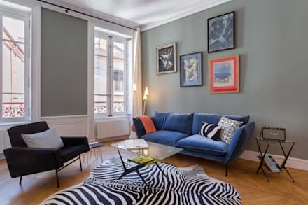 Le Confort: Salon de style de style Classique par Thomas Marquez Photographie