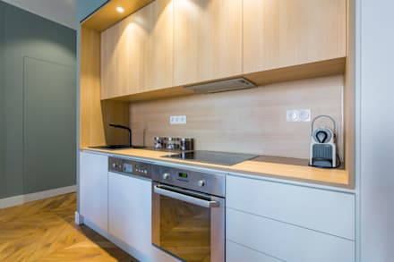 Built-in kitchens by Thomas Marquez Photographie