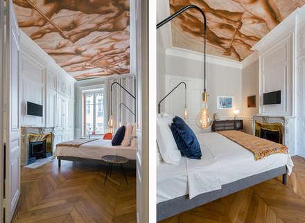 Le Blue Dream: Chambre de style de style Colonial par Thomas Marquez Photographie