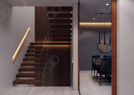 Plateau:  Stairs by Design Studio AiD