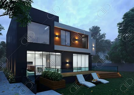 Plateau: minimalistic Houses by Design Studio AiD