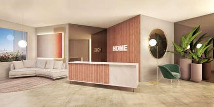 Exhibition centres by Gracia Nano Studio