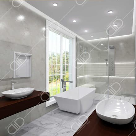 Traditional interior: classic Bathroom by Design Studio AiD
