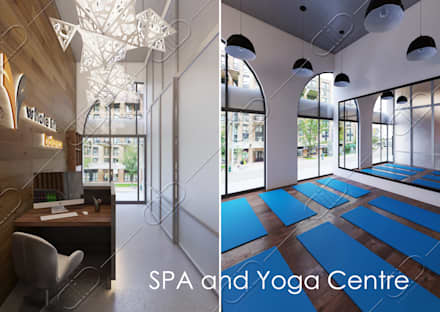 Yoga SPA :  Clinics by Design Studio AiD