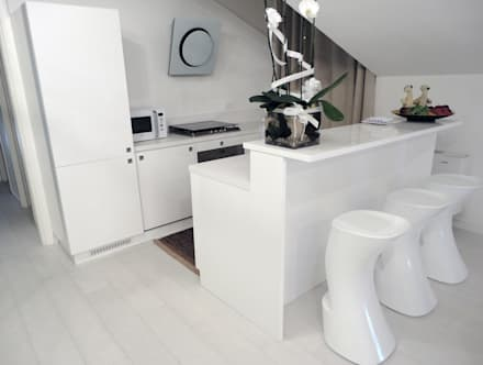 Cucina: Cucinino in stile  di DELFINETTIDESIGN