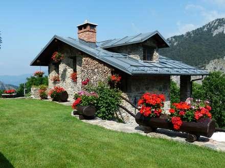 Ferienhaus aus Stein:  Einfamilienhaus von Tanja Mason Fotografie