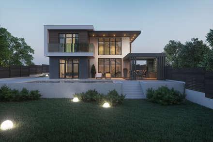 : minimalistische Häuser von Tobi Architects