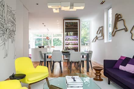 Avenue Road Residence: modern Dining room by Flynn Architect