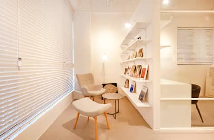minimalistic Study/office by 원더러스트