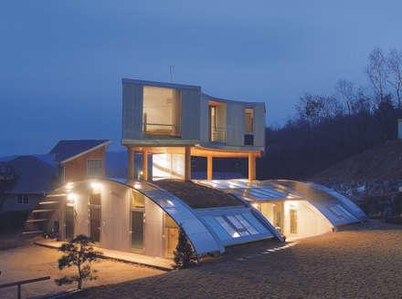 능평리하우스 (Hyung): D.P.J & Partners의  전원 주택