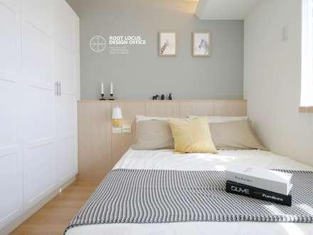 ห้องนอน by 築本國際設計有限公司