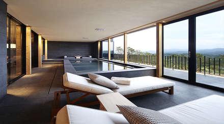 modern Spa by 단감 건축사사무소