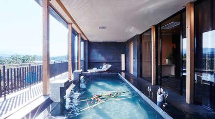 modern Pool by 단감 건축사사무소