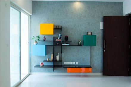 Fortius Waterscape - Model Flat: eclectic Living room by Renovatio Interio