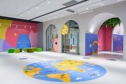 ShangHai DoDo: asian Nursery/kid's room by Taipei Base Design Center