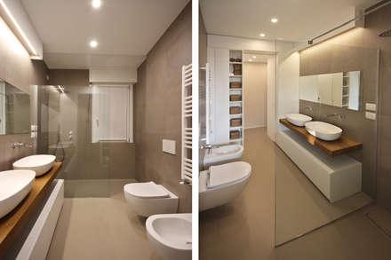 Bagno Design Moderno: Bagno in stile in stile Scandinavo di JFD - Juri Favilli Design
