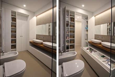 Bagno Stile Moderno : Bagno in stile in stile Scandinavo di JFD - Juri Favilli Design