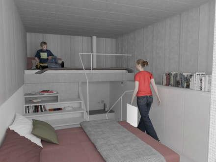 Habitaciones juveniles ideas dise os y decoraci n homify - Habitaciones con escaleras ...
