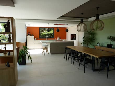 salle a manger / cuisine : Salle à manger de style de style Scandinave par BRUNO BINI
