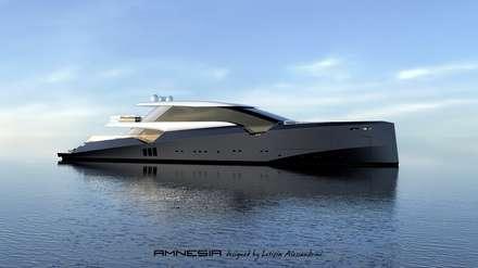 AMNESIA yacht: Yacht & Jet in stile in stile Moderno di Letizia Alessandrini - Yacht & Interior Design