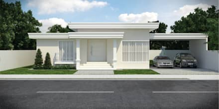 Single family home by D'Ateliê
