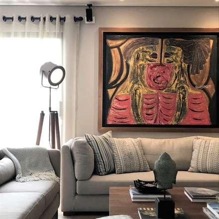 sala: Salas de estilo ecléctico por Ecologik