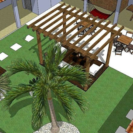 حديقة Zen تنفيذ ITOARQUITETURA