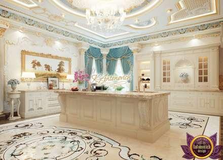Kitchen decoration ideas of Katrina Antonovich: classic Kitchen by Luxury Antonovich Design