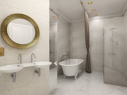 Hotel Intercontinental de Madrid: Hoteles de estilo  de Cristina Monge