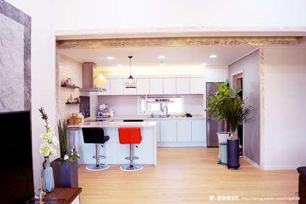 Кухонные блоки в . Автор – W-HOUSE