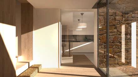 Projecto de Reabilitação e Ampliação : Paredes  por Ar Studio Architects