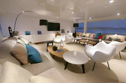 modern Yachts & jets by oshi pracownia projektowa