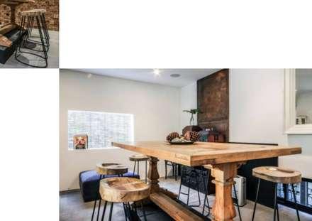 Weekend home: scandinavian Dining room by workroom