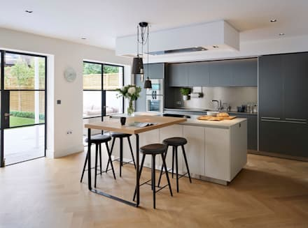 Modern Country Kitchen Uk