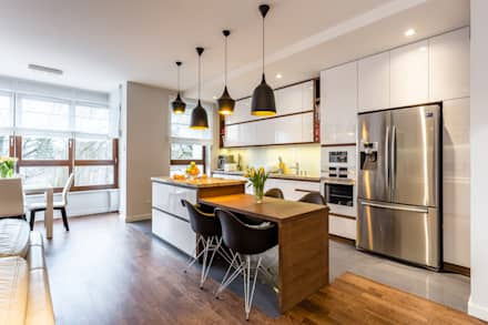 وحدات مطبخ تنفيذ Modify- Architektura Wnętrz