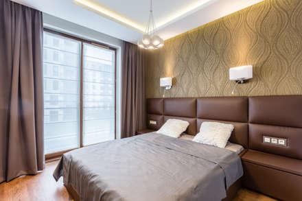 Mieszkanie na warszawskim Zolibożu: styl , w kategorii Sypialnia zaprojektowany przez Modify- Architektura Wnętrz