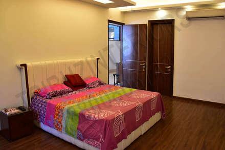 ausgefallene Schlafzimmer von Tribuz Interiors Pvt. Ltd.