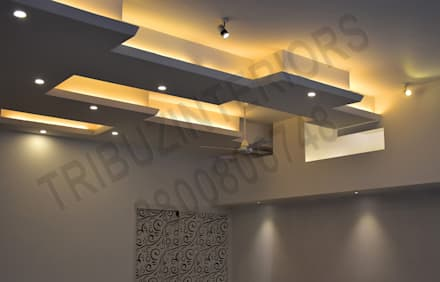 Tường by Tribuz Interiors Pvt. Ltd.