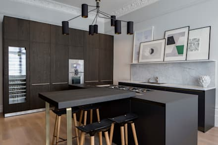 Bespoke Bulthaup In North West London Apartment: Modern Kitchen By Kitchen  Architecture
