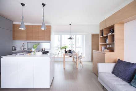 Cherry Crest: scandinavian Dining room by Clifton Leung Design Workshop
