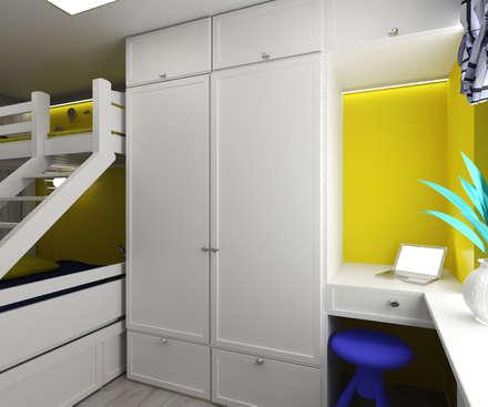 Детская для троих: Детские спальни в . Автор – lux.Plus