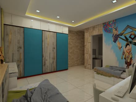 Kids Bedroom: Boys Bedroom By Regalias India Interiors U0026 Infrastructure