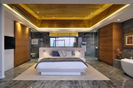 House Hunt in Bantry Bay, Cape Town: modern Bedroom by KMMA
