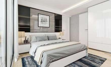 moderne Schlafzimmer von thiết kế kiến trúc CEEB