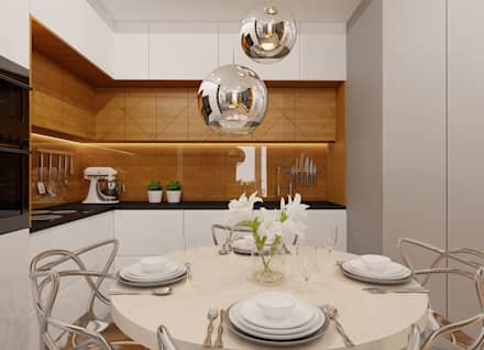 Built-in kitchens by Piec Piąty